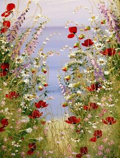 Blumenwiese Blumenwiese The post Blumenwiese appeared first on Blumen ideen. Blumenwiese Blumenwiese The post Blumenwiese appeared first on Blumen ideen. Meadow Flowers, Wild Flowers, Flowers Garden, Fresh Flowers, Garden Painting, Garden Art, Illustration Blume, Arte Floral, Abstract Flowers