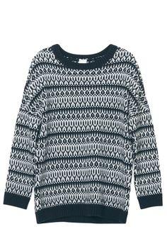 Monki sweater (via the seventy tree)