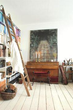 ... jeann, lofts, the loft, ladders, loft ladder, magazines, ladder idea