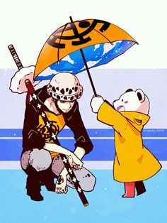 One piece - Trafalgar Law and Bepo