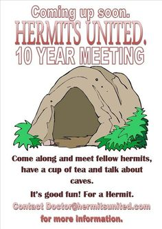 Hermits United :)this one's for you, @Megan Ward Tennill