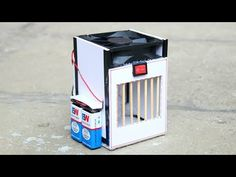 How to make Powerful Air cooler - [ DIY Tutorial ] - YouTube