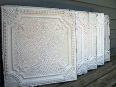 Tin Tiles; a great way to add character.