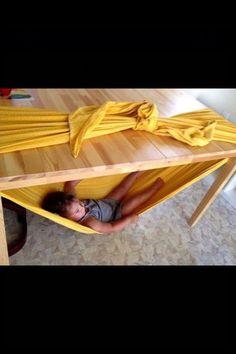Quick hammock!