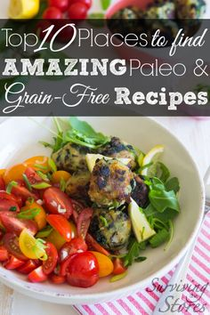 These are some of the BEST resources for those who want to live a grain-free or Paleo lifestyle!  You can still have bread, scones, crackers, PIE, and more!
