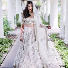 The latest collection of Bridal Lehenga designs online on Happyshappy! Find over 2000 Indian bridal lehengas and save your favourite once. Indian Wedding Outfits, Bridal Outfits, Indian Outfits, Wedding Dresses, Indian Weddings, Wedding Attire, Pakistani Bridal, Indian Bridal, Latest Bridal Lehenga Designs