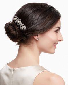 Shimmer Wreath Hair Comb