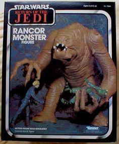 Star Wars toys I had, wish I still did: Rancor