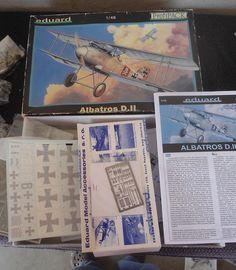 Eduard Profipack #8081 1/48 Albatros DII  Plastic Military Airplane Model Kit #EduardProfipack