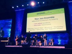 The WMA Titan Jazz Ensemble performed at the NAIS Conference.