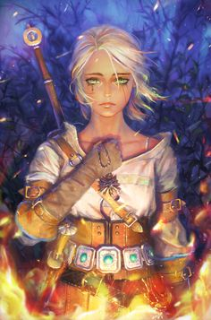 Ciri In The Witcher 3 Wild Hunt