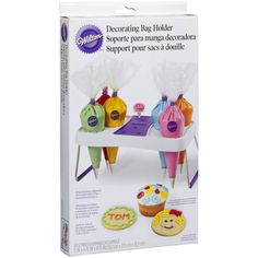 <div>Keep icing bags organized and in easy reach of your decorating workspace. Openings hold up ...