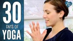 Yoga with Adriene. This girl is amazing, so happy and inspiring: 30 Days of Yoga – Day 20