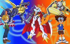 Digimon Dragon's Shadow: digevolução