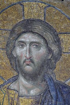 Discovery and History - Deesis Mosaic of Christ - Hagia Sophia