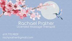 Business Card Massage Therapist on Behance