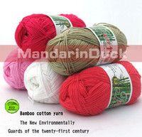 Yarn bamboo yarn - 5skeins g bamboo yarn baby wool knit