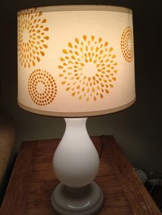 diy lamp shades | categories decor accents tags diy lampshade lamp stenciled lamp shade ...