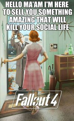 Ill take two. One for my friend. #Fallout4  fallout fallout 4 vault-tec twitter