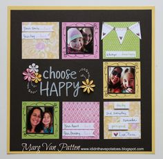 I Didn't Have Potatoes: RB Blog Hop Time! March Stamp of the Month - Choose Happy using Brushed paper.