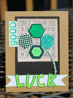Luck o' The Irish Card by Tami Featuring ColorBox Pigment Inks - Clearsnap Blog