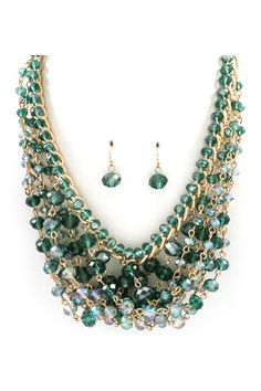 Crystal Bea Necklace