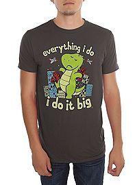 HOTTOPIC.COM - T-Rex I Do It Big T-Shirt