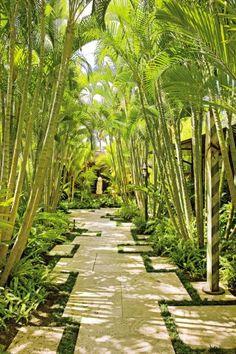 Exotic Garden by Werner Design Associates via @Architectural Digest #designfile