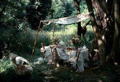 ♕ woodland picnic ~ Victoria Fitchett
