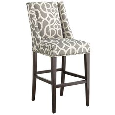 Owen Pewter Bar & Counter Stool | Pier 1 Imports