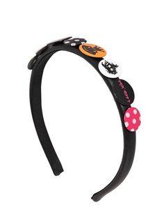 Pins On Nappa Leather Headband