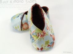 no 123 Tabi KimonoStyle Baby Booties PDF Pattern by sewingwithme1, $4.50