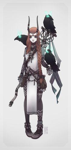 ArtStation - Character design - Ehrin, t r