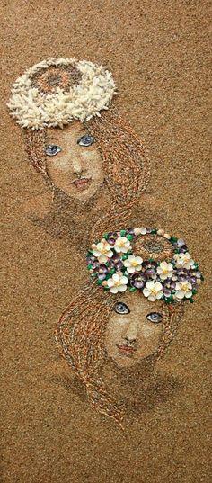 sand, shells, and sea glass, Svetlana Ivanchenko
