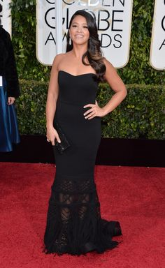 This Fan Wore Gina Rodriguez's Golden Globes Dress to Prom Because Dreams Actually Do Come True