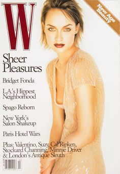 <em>W</em> Magazine's Supermodel Cover Girls - W Magazine April 1997-Wmag