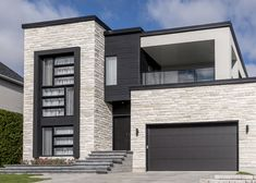 Rinox - contemporary stone siding  Lima stone almond white color