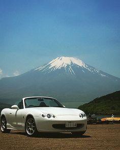 ✔ Meanwhile in Japan, @na6zx #TopMiata #nb6c #mountfuji #Japan  #JDM  TopMiata.com | #mazda #miata #mx5 #eunos #roadster #mazdamiata #mazdamx5 #mazdaroadster
