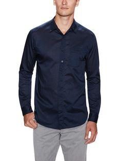 Solid Cotton Sportshirt