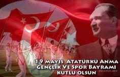 19 Mayıs Atatürk'ü Anma Gençlik Ve Spor Bayramı Kutlama Kartları  www.ozledim.net  #19mayıs #atatürk #19mayıskutlamakartları
