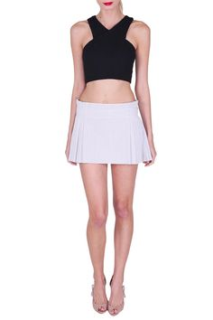 Is your style more sporty? Look at our Chanel tennis skirt, which is perfect for days out in the summer time. Available for only $50 a week