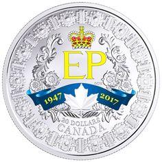 2017 CANADA $20 A PLATINUM CELEBRATION SILVER COIN (TAX EXEMPT)