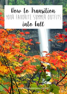 Learn how to wear your summer clothes to class in fall with our summer to fall transition outfit ideas for college students.
