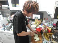 BANGTAN BLOG :: Kim Seokjin Making Food