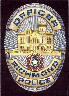 Police Badge Texas