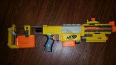 Nerf Recon CS-6 Fully Loaded in Kansas City, KS (sells for $50)