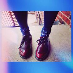 My friend's fancy boot from Dr.Martens! Love it!