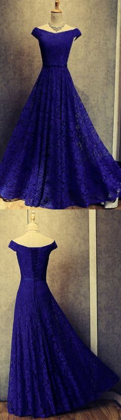 Charming Prom Dress,Lace Prom Gown,A-Line Prom Dress,Off the Shoulder Prom Gown