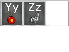 Page 5 of 5 Alphabet Posters, Fall Bulletin Boards, Vip Kid, English Alphabet, Printables, School, Kids, Young Children, Boys