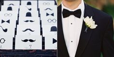 i don't know where the names actually are on the escort cards, but love the simplicity and playfulness of these!